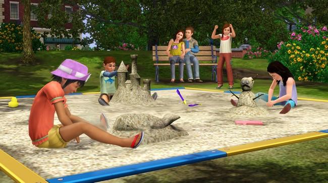 Sims 3 gateau d'anniversaire