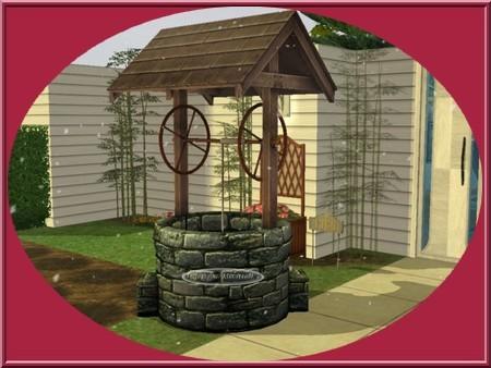 Puits souhaits sims2 for Puit decoratif de jardin