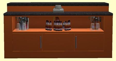 element cuisine design. Black Bedroom Furniture Sets. Home Design Ideas