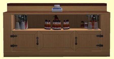 Plan de travail pour bar de cuisine meuble de bar cuisine Meuble de cuisine sims 4 qui s imbrique