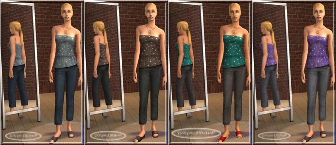 minitroll les sims2 test kit h m fashion mode. Black Bedroom Furniture Sets. Home Design Ideas