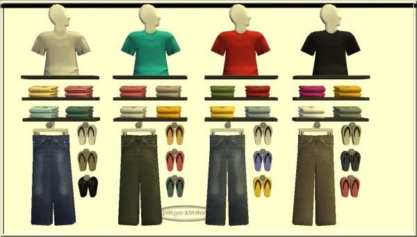 vêtements sims 2